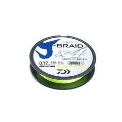Fir textil Daiwa J-Braid 4X Yellow 0.07mm/2.6kg/135m