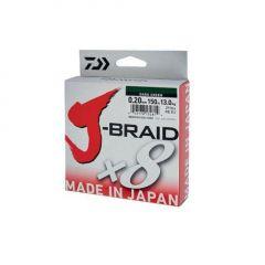Fir textil Daiwa J-Braid X8 Dark Green 0.13mm/8kg/300m