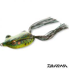 Broasca Daiwa Soft D-Frog 6cm/verde