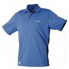 Tricou polo Daiwa albastru, marime 2XL