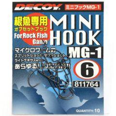 Carlige Decoy Mini Hook MG-1 Nr.8
