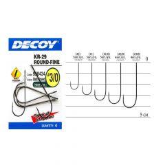 Carlige Decoy Worm Round Fine KR29 Nr.2/0