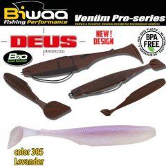 Shad Biwaa Deus 10cm, culoare 305 Levander