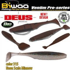 Shad Biwaa Deus 13cm, culoare 315 Neon Scale Minnow
