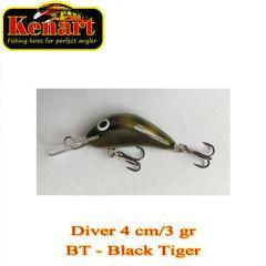 Vobler  Kenart Diver F 4cm, culoare BT