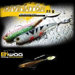 Shad Biwaa Divinator Junior 14cm/22g, culoare Watermelon Red