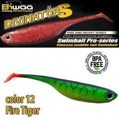 Shad Biwaa Divinator S 13cm, culoare Fire Tiger