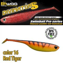 Shad Biwaa Divinator S 10cm, culoare Red Tiger
