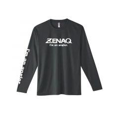 Tricou maneca lunga Zenaq Dry Long T-Shirt Dark Grey, marime M