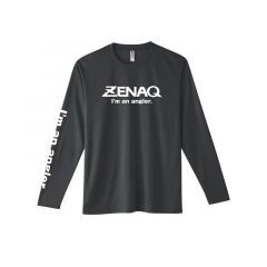 Tricou maneca lunga Zenaq Dry Long T-Shirt Dark Grey, marime L