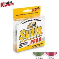 Fir textil Sufix Performance Pro 8 Lo-Vis Green 0.12mm/8.2kg/275m
