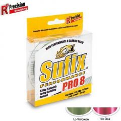 Fir textil Sufix Performance Pro 8 Hot Pink 0.21mm/17.5kg/275m
