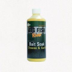 Atractant Dynamite Baits Big Fish River Soak - Cheese & Garlic