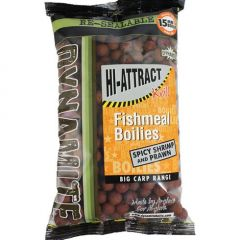 Boilies Dynamite Baits Hi-Attract Shrimp & Prawn (Krill) 15mm 1kg