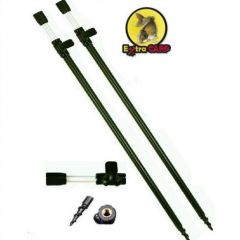 Suport  lanseta telescopic Extra Carp 60-110cm/2buc