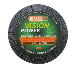 Fir monofilament EVOS Vision Power Long Distance 0.30mm/9.80kg/1200m