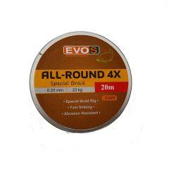 Fir textil EVOS All-Round 4X Special Braid 0.20mm/23kg