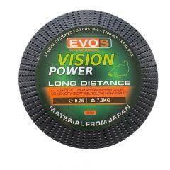Fir monofilament EVOS Vision Power Long Distance 0.25mm/7.30kg