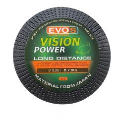 Fir monofilament EVOS Vision Power Long Distance 0.28mm/7.90kg