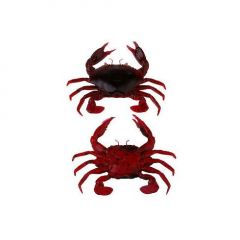 Savage Gear 3D Manic Crab 5cm, culoare Red/Black