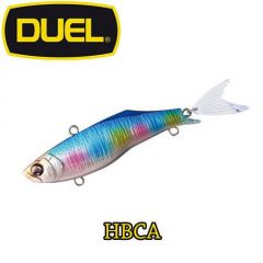 Vobler Duel Hardcore Fintail Vibe S 8cm, culoare HBCA