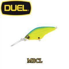 Vobler Duel Hardcore Mid Crank F 6cm/10g, culoare MBCL