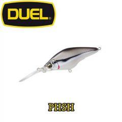 Vobler Duel Hardcore Mid Crank F 6cm/10g, culoare PHSH