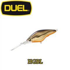 Vobler Duel Hardcore Deep Crank F 6cm/11g, culoare HGBL