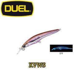 Vobler Duel Hardcore Jerkbait SP 6.5cm/4g, culoare KVWS