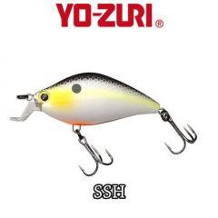 Vobler Yo-Zuri 3DS Flat Crank F 5.5cm/7.5g, culoare SSH