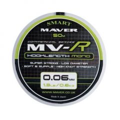 Fir monofilament Maver MV-R Hooklenght Mono 0.08mm/0.7kg/50m