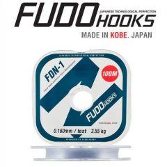 Fir monofilament Fudo FDN-1 Clear 0.10mm/1.70kg/100m