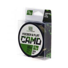Fir monofilament Feeder Concept Feeder & Flat Camo Sinking 0.27mm/6.1kg/150m