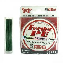 Fir textil Fanatik Feeder PE Braided Green 0.16mm/8.1kg/140m