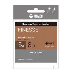 Fir fluorocarbon Tiemco Finesse Leader 3X 8ft