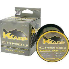 Fir monofilament K-Karp Camou 0.37mm/300m