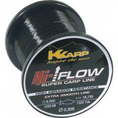 Fir monofilament K-Karp Hi Flow 0.405mm/13.50kg/1200m