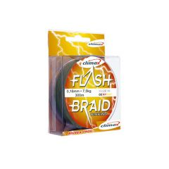 Fir textil Climax Flash Braid Green 0.16mm/11kg/100m