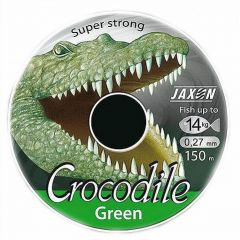 Fir monofilament Jaxon Crocodile Green 0,30mm/16kg/150m