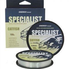 Fir monofilament EnergoTeam Specialist Catfish 0,30mm/11,21kg/150m