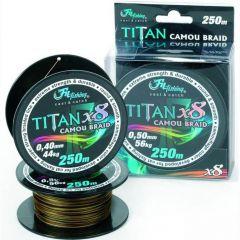 Titan Catfish Camo 0.50mm/56kg/250m Fir textil Filfishing