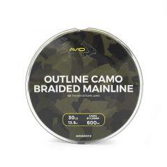 Fir textil Avid Carp Outline Camo Braided Mainline 0.25mm/13.6kg/300m