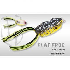 Frog Colmic Herakles Flat Frog Yellow Brown