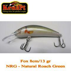 Vobler Kenart Fox 8cm, culoare NRG