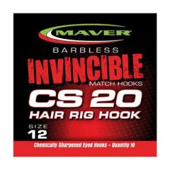 Carlige Maver Invincible CS20 Hair Rig Nr.16