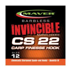 Carlige Maver Invincible CS22 Carp Finesse Nr.12