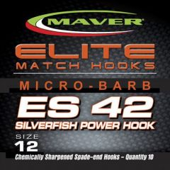 Carlige Maver Seria Elite ES42 Silverfish Power nr 12