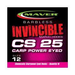 Carlige Maver Invincible CS25 Power Eyed Nr.12