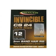 Carlige Maver Invincible CS24 Banded Legate nr.14 - Fir 0.20mm