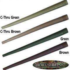 Gardner Anti-tangle Sleeves Covert, C-Thru Green